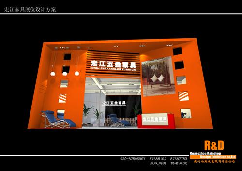 展台展览展示设计制作作品效果图欣赏6