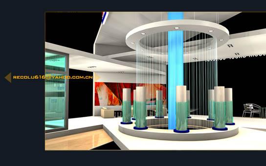 展厅展台设计效果图欣赏