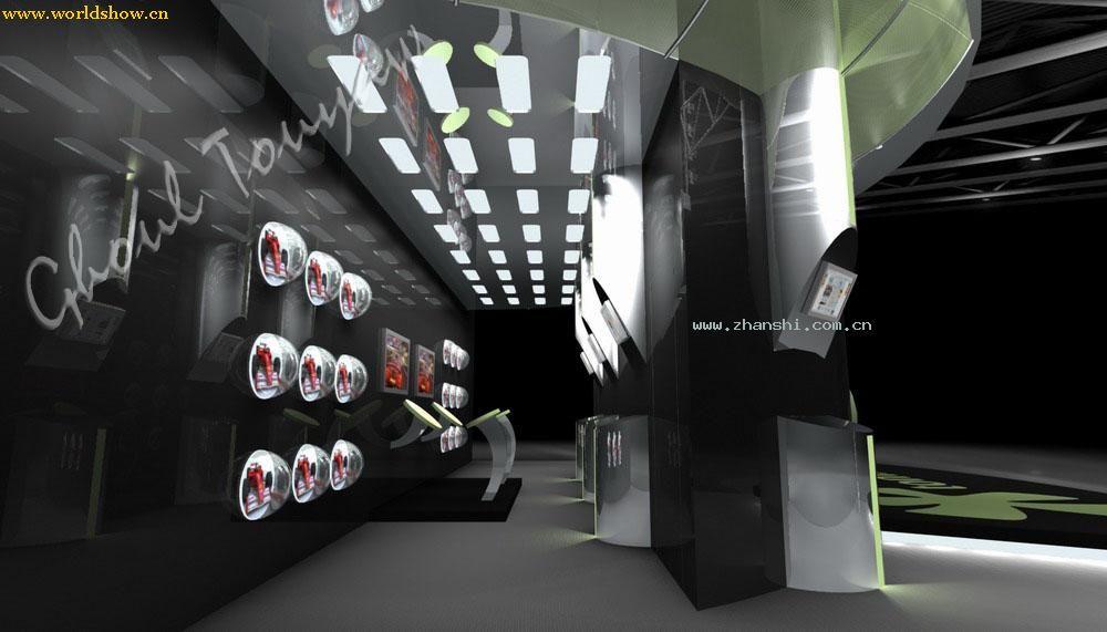 tom展台展示设计效果图欣赏 - 中国展览设计网|国外