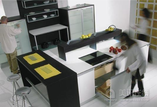 现代铝制厨具厨房 - 中国展览设计网|国外展台搭建
