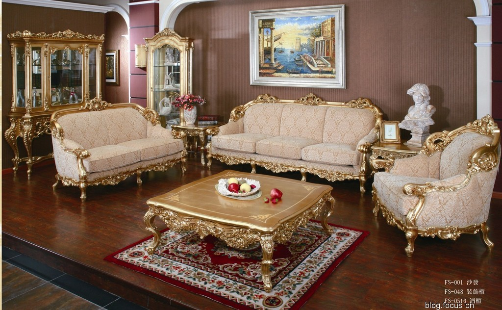 雍容华贵 高贵典雅的总统套房