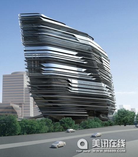 扎哈哈迪德的创新塔 中国展览设计网 国外展台搭建 展览搭建 展位设计搭建 展台设计搭建 搭建公司 布展公司 美国搭建