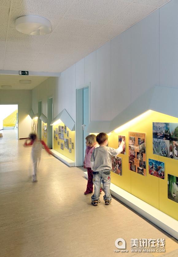 The Baupiloten是柏林科技大学建筑学院的一个学生团队,建设项目都是在Susanne Hofmann的指导和监督下完成。 他们已经完成了他们的第三个项目。这是第二个为柏林客户ASB Kinder and Jugendhilfe GmbH公司设计的。The Baupiloten从临时搭建的幼儿园,作为想象儿童,创建了一个全新的构想世界。