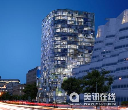 jean nouvel设计的100 11th大道公寓楼