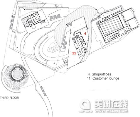 宝马4s店设计平面图