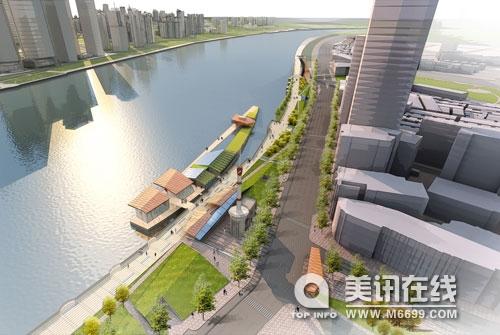 城市滨水空间景观规划设计初探——以江西新余袁河景观带一期景观规划
