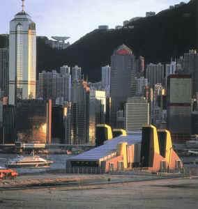 香港赤蜡角机场九龙火车站