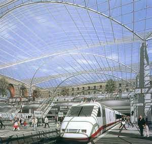 斯图加特车站区 - 中国展览设计网|国外展台搭建|展览