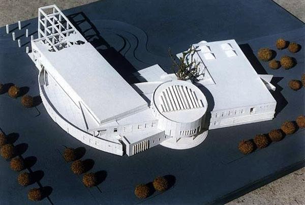 一个文化馆模型设计效果图欣赏