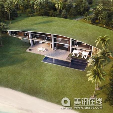 海岛别墅studio dror设计 - 中国展览设计网 国外展台