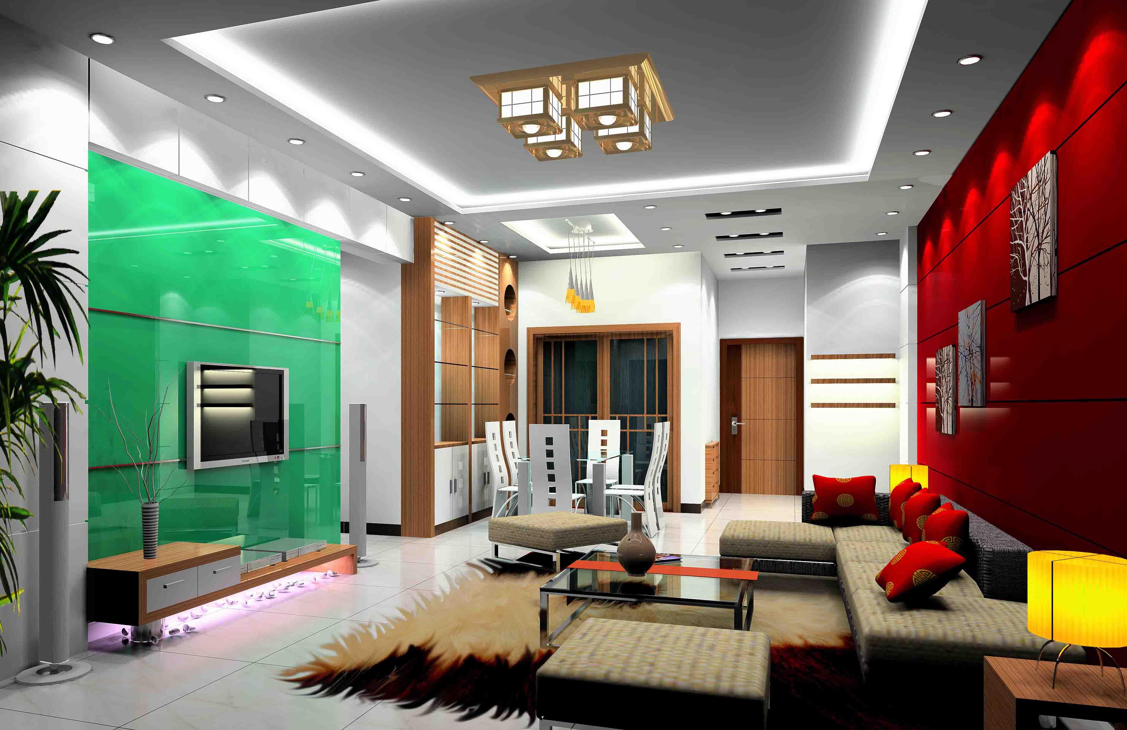豪华室内设计制作效果图欣赏
