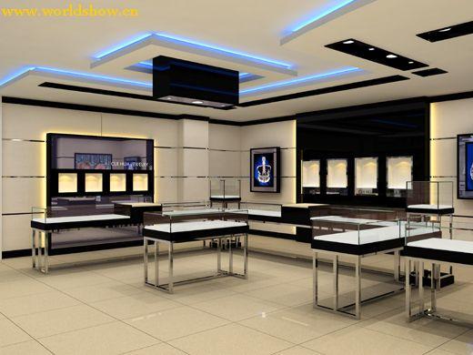 展厅珠宝长沙房屋设计团队设计制作效果图v展厅1图片