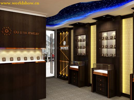 展厅珠宝平面设计颜色知识设计制作效果图v展厅2图片