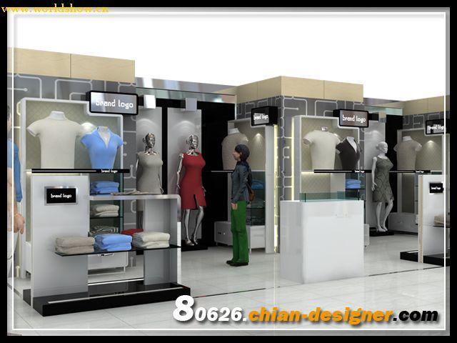 展厅服装食品加工区规划设计设计制作效果图v展厅图片