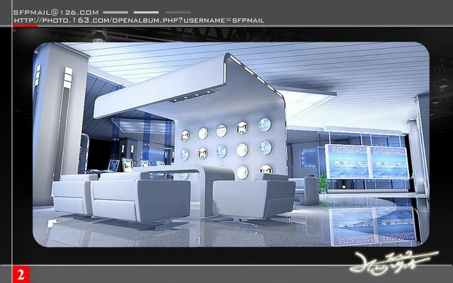 展台展位搭建设计制作效果图欣赏