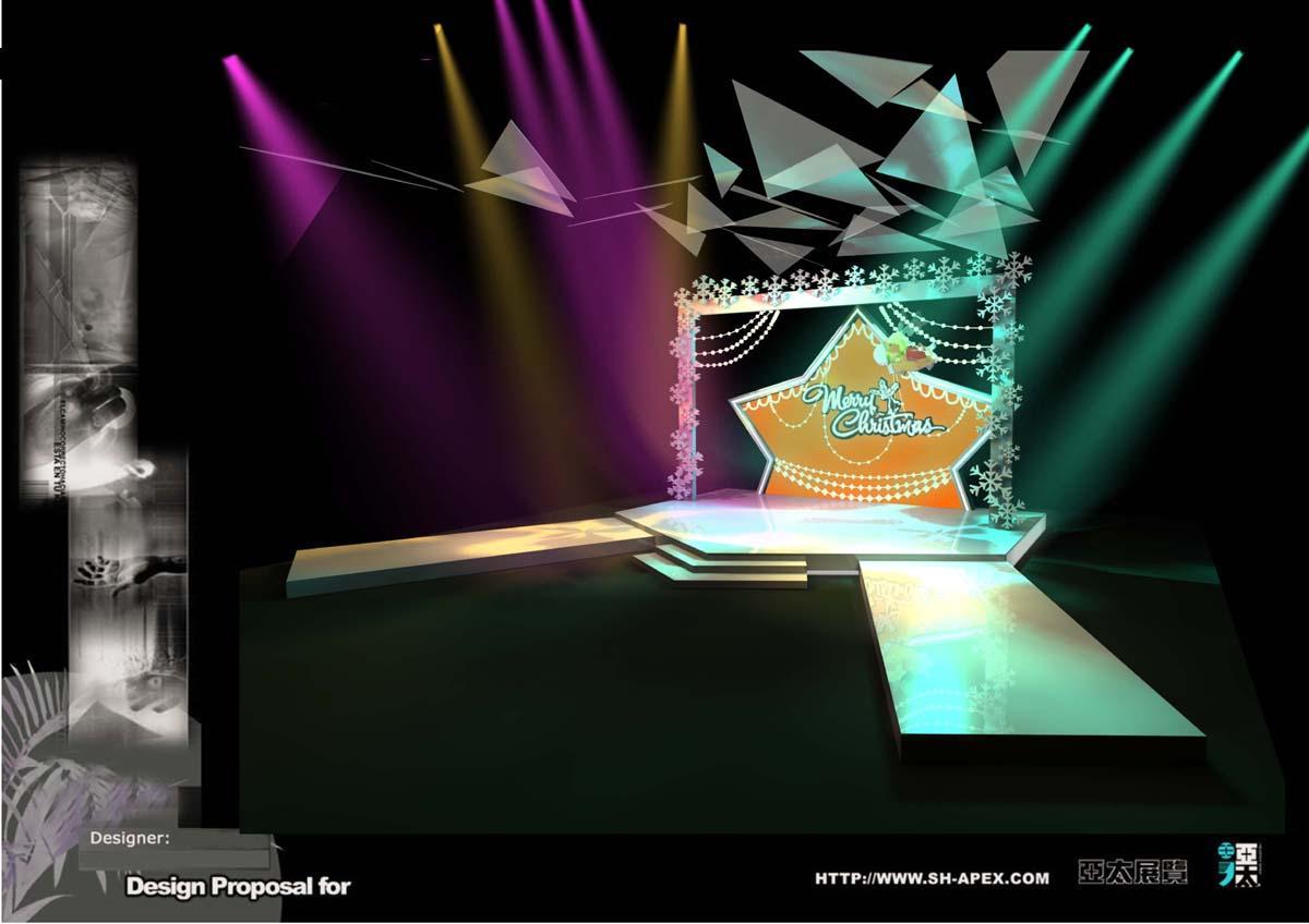 展台展位设计制作效果图欣赏 - 中国展览设计网|国外