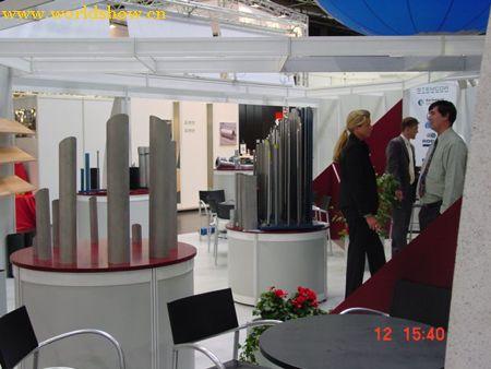 德国机械展展台展位设计效果图欣赏2