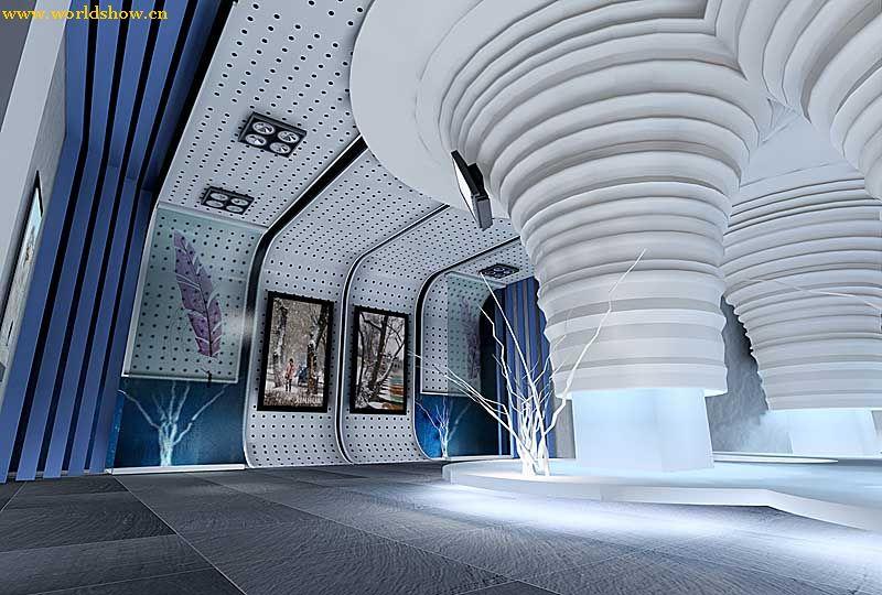 时尚经典展厅设计制作效果图欣赏
