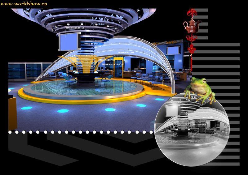 skyworth创维电视展台展位设计效果图欣赏