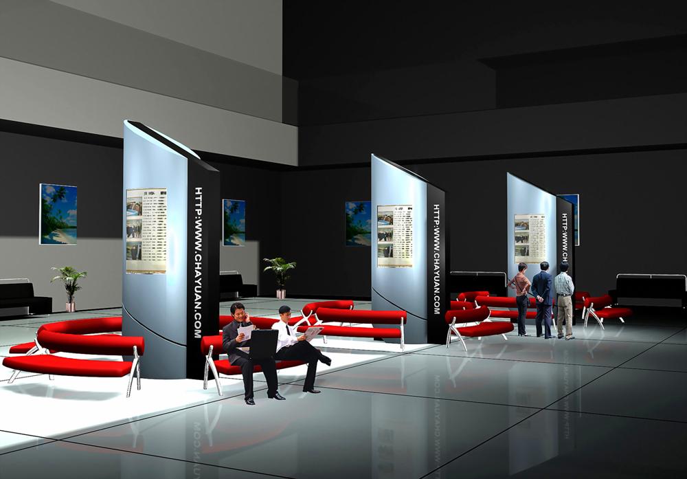 展厅设计制作搭建效果图欣赏