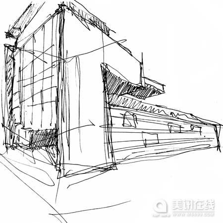 工程图 简笔画 平面图 手绘 素描 线稿 450_450