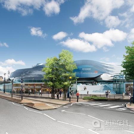 foa公布伯明翰新街车站设计图 - 中国展览设计网|国外