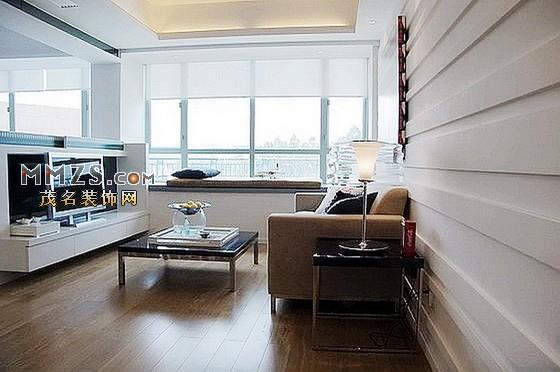 黑白时尚样板房 现代风格装修设计