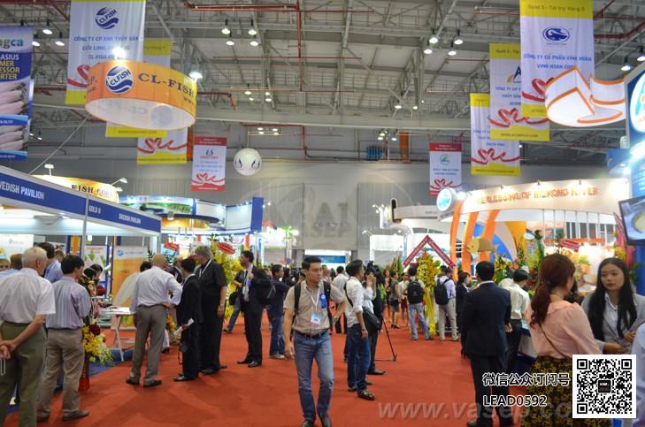 2017年越南胡志明国际水产海鲜及加工展览会vietfish